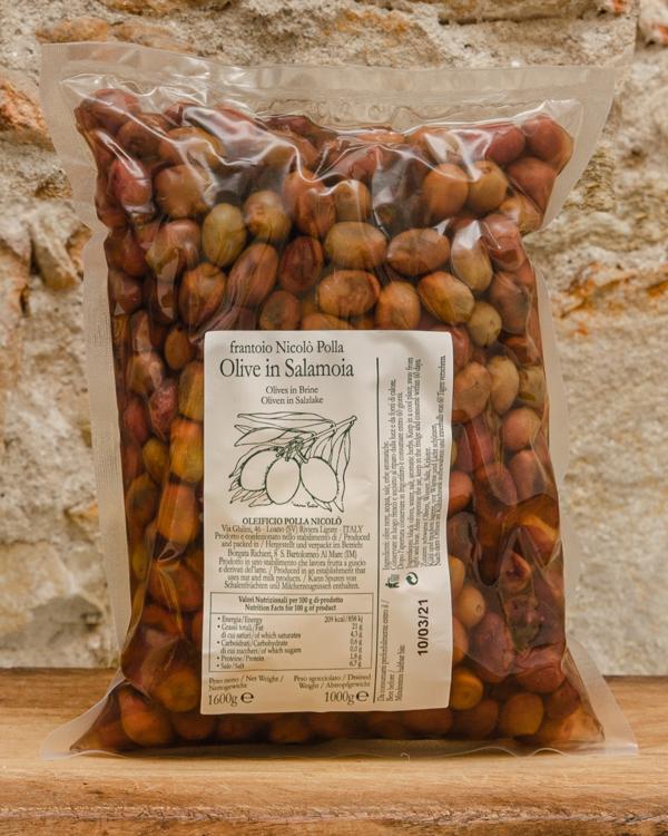 Picture of Black Olives in Brine 1.6kg (net 1Kg)