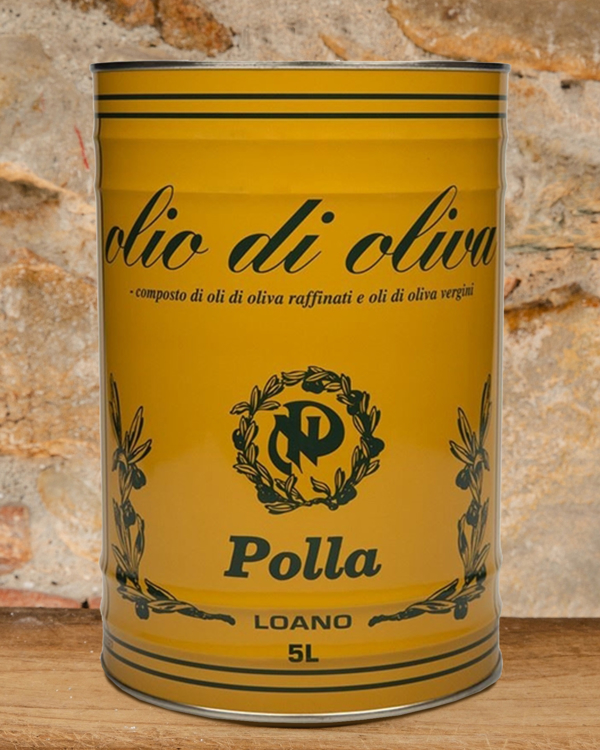 Picture of 4 Tins of Olive Oil 'Talea' with 35% of Extra Virgin