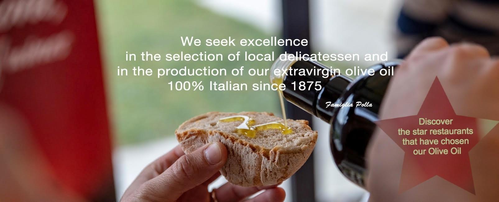 Extravirgin Olive Oil Taggiasco - 100% Italian - Polla since 1875