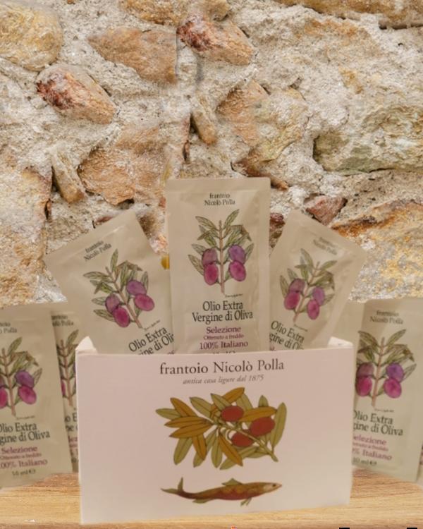 Immagine di 50 Monodosi di olio extravergine di oliva Selezione